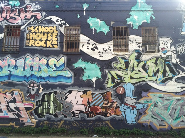 ニューヨーク、壁画