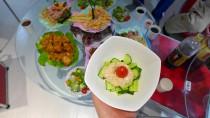 キュウリとツナの混ぜ混ぜ小鉢