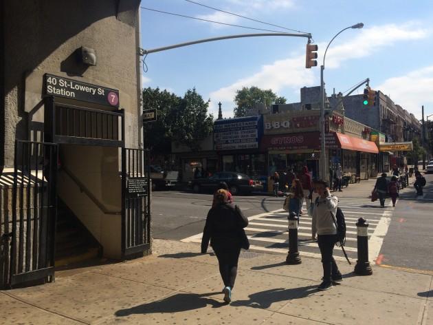 ニューヨーク、40st駅