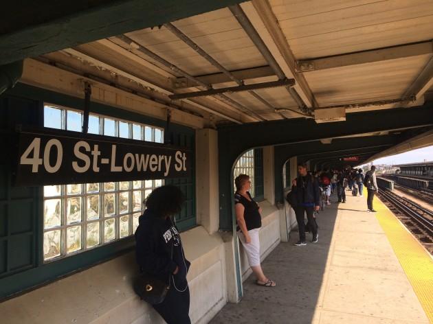 ニューヨーク、40st駅の写真