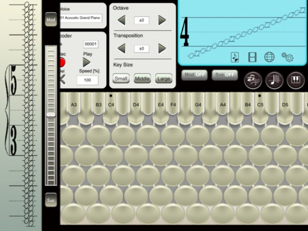 6-CHROMATONE for iPadの画面0