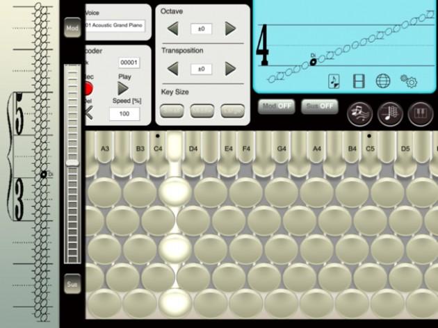 2b-CHROMATONE for iPadの画面1