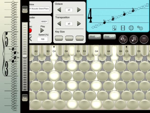 7-CHROMATONE for iPadの画面2
