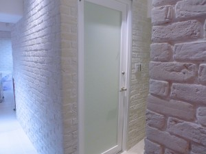 Restroom入り口